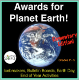 Science: Awards for Amazing Plants and Animals - Activity Worksheets
