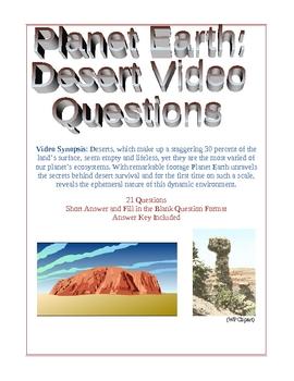 Planet Earth: Desert Video Questions