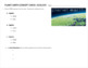 Planet Earth:  Ecology / Populations Concept Check