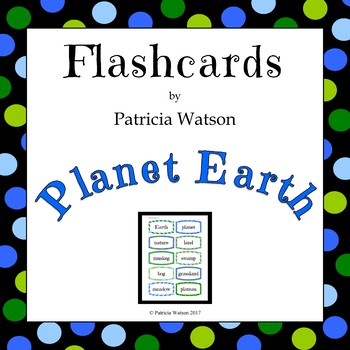 Planet Earth Flashcards
