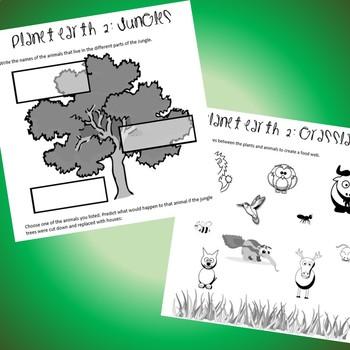 Planet Earth II: Elementary School Notes!