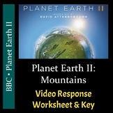 Planet Earth II - Episode 2: Mountains - Video Worksheet &