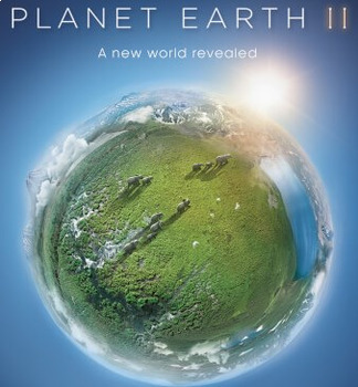 Planet Earth II: Mountains Video Worksheet, Wordsearch, and Word Jumble 2 movie