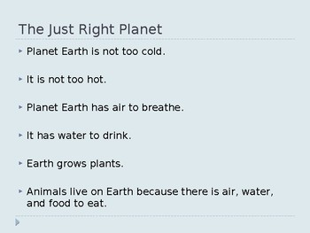 Planet Earth PowerPoint