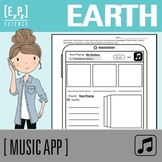 Planet Earth Science Music App Template