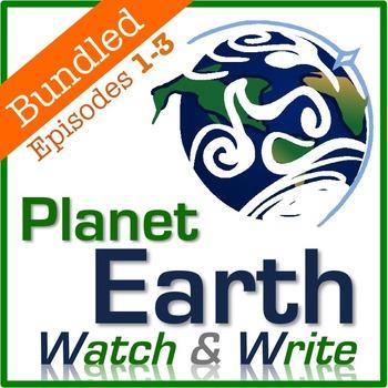 Planet Earth: Watch & Write DISC 1 BUNDLE (Episodes 1-3)