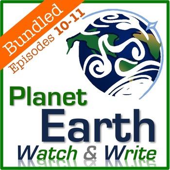 Planet Earth: Watch & Write DISC 4 BUNDLE (Episodes 10-11)