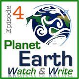 Planet Earth: Watch & Write (Episode 4: Caves)