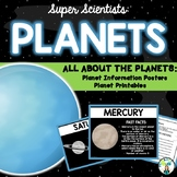 Planet Fact Posters & Printables {Planet Order & Writing Prompts}