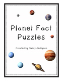 Planet Fact Puzzles