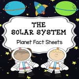 The Solar System - Planet Fact Sheets