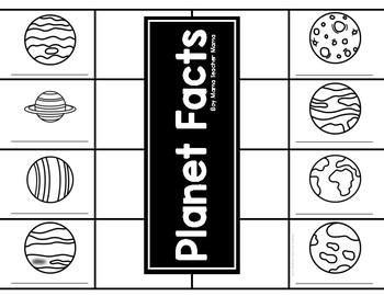 Planet Facts Flip Book