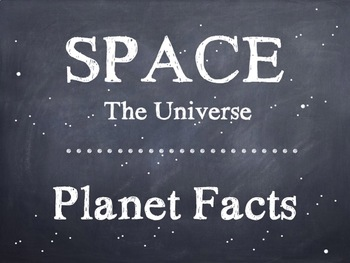 Planet Facts PowerPoint