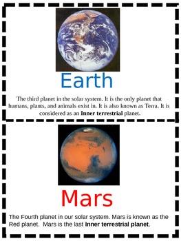 Planet Flashcards