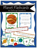 Planet Flashcards + Challenge cards