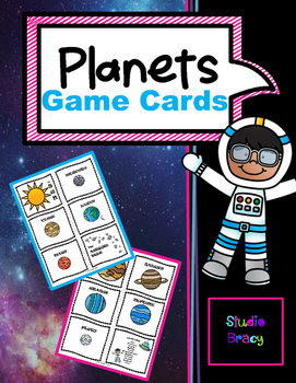 Planet Game Cards