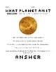Planet Guessing Game Worksheet