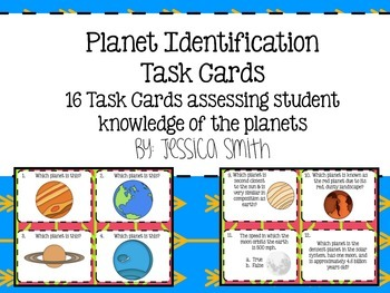 Planet Identification Task Cards
