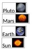 Planet Lables