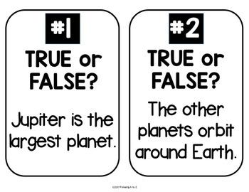 Planet MEGA BUNDLE {Introduction, Vocabulary, Fact Posters, Quiz & MORE!}