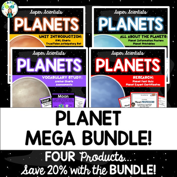 Planet MEGA BUNDLE {Introduction, Vocabulary, Fact Posters