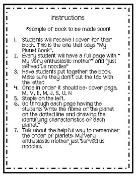 Planet Mini Book