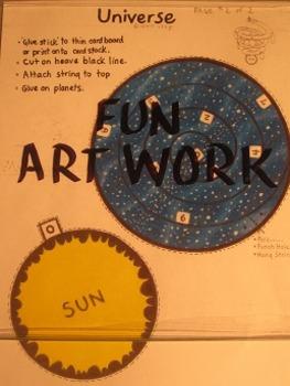 Planet Mobile. Fun Craft Art