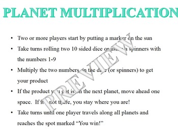 Planet Multiplication