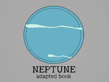 Planet Neptune Adapted Book