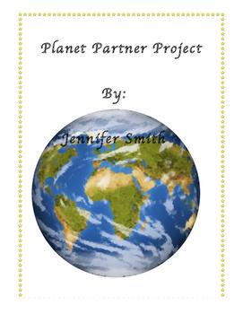 Planet Partner Project Worksheet