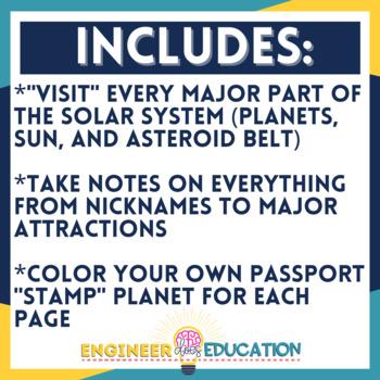 Planet Passport : Solar System Notes