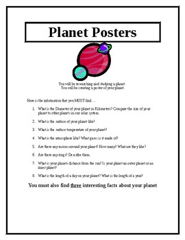 Planet Posters!