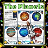 Planets Solar System Posters Display Set