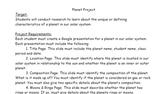 Planet Presentation Project