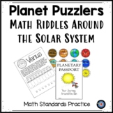 Planet Puzzles: A Passport Around the Solar System MATH Riddles