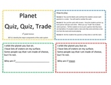 Planet Quiz Quiz Trade Game/Center