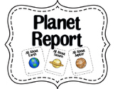 Planet Report Accordion Book