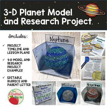 Planet Research {3-D Model and Planet Report}