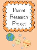Planet Research Project