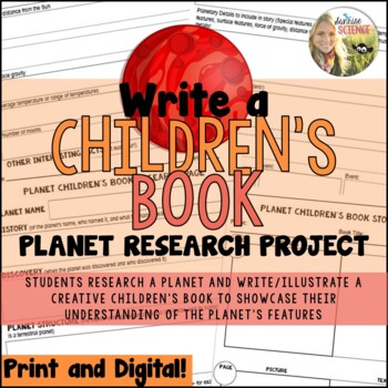Planet Research Project: Write a Children's Book!