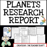 Planets and Solar System   Research Report