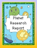 Planet Research Report for ELA CCSS and Science