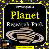 Planet Research Pack