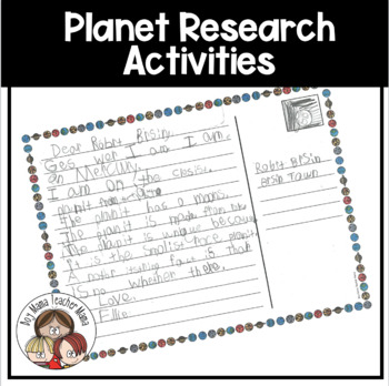 Planet Research and Writing Activities