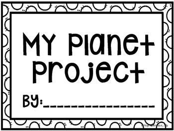 Planet/Solar System Project