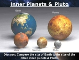 Planet Space Solar System Universe Size Comparison PowerPoint Pictures Science