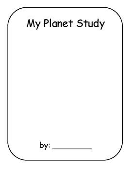 Planet Study