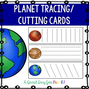 Planet Tracing/Cutting Cards