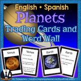 Planet Trading Cards and Word Wall Posters