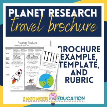 Planet Research Brochure: Engaging Travel Agent Space Science Activity